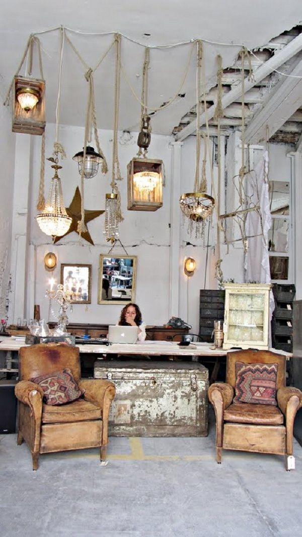 Lovely vintage interior store | Home Decor | Store design ...