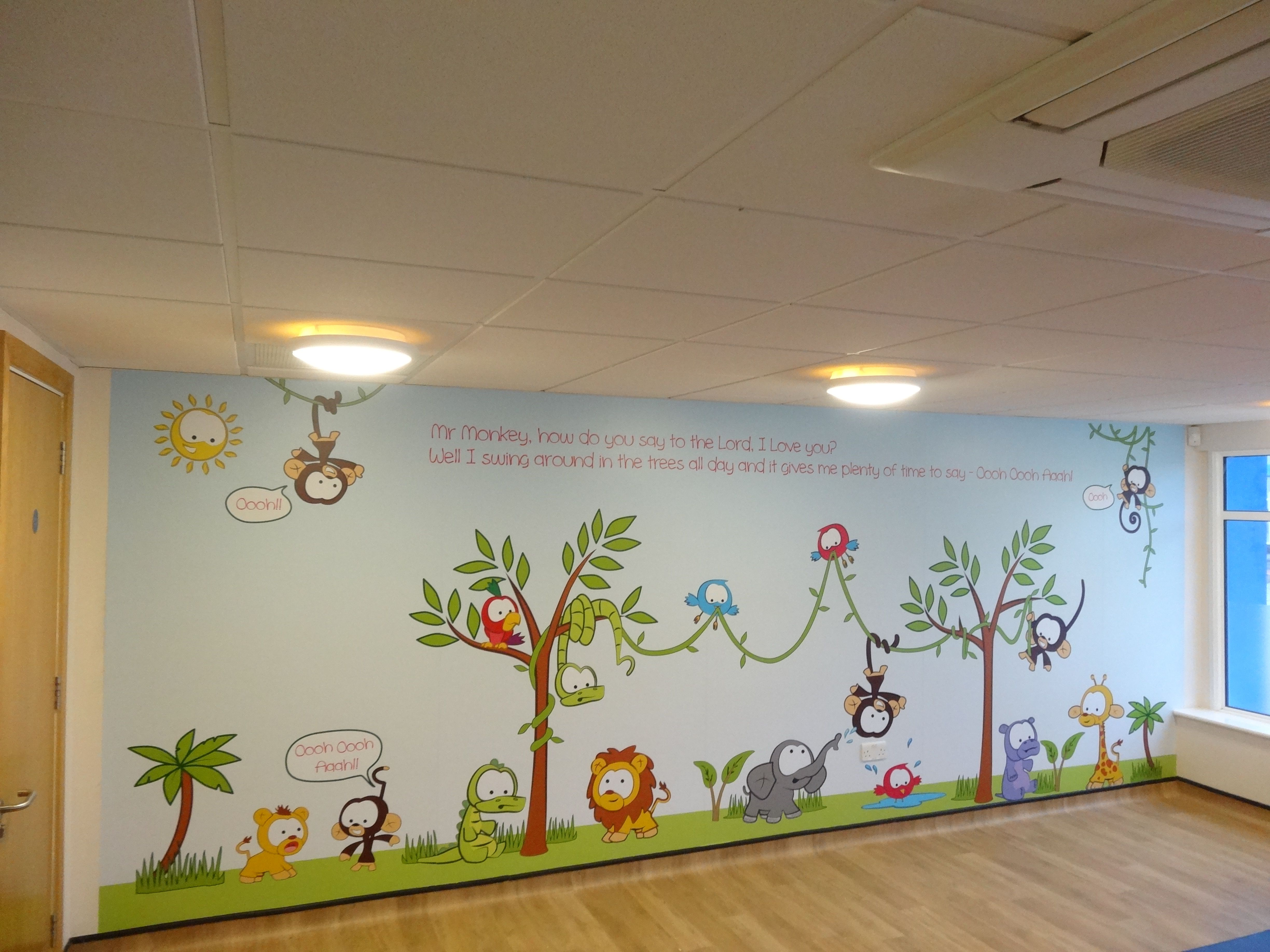 Vinylimpression Co Uk Custom Wall Murals And Wraps For Nurseries Child Care Centres
