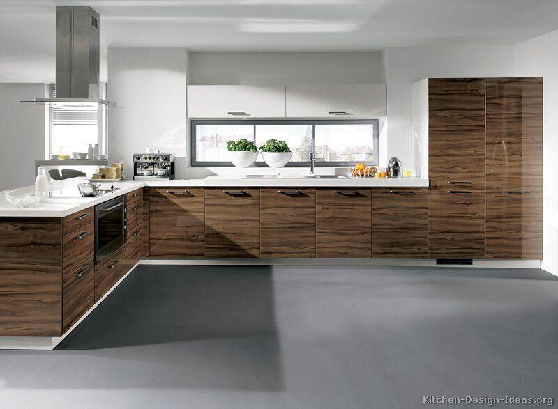 Kitchen Idea of the Day Modern Two-Tone Kitchen (By ALNO, AG - alno küchen arbeitsplatten