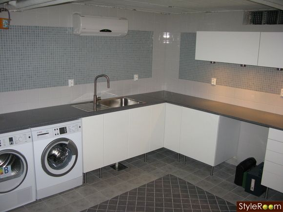 Inredning källare basement : tvättstuga källare - Sök pÃ¥ Google | Källare/Basement | Pinterest ...