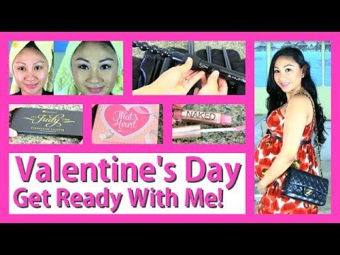 61655bc3a0367 ▷ ❤ Valentine s Day Get Ready With Me  Hair