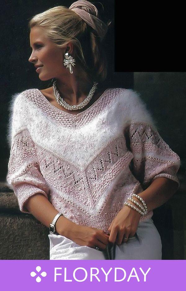 Photo of Pullover mit V-Ausschnitt und Löchern