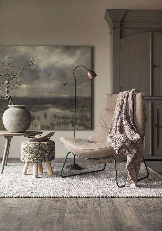 Von wegen langweilig: Ähnliche Farben können einen Raum richtig ...