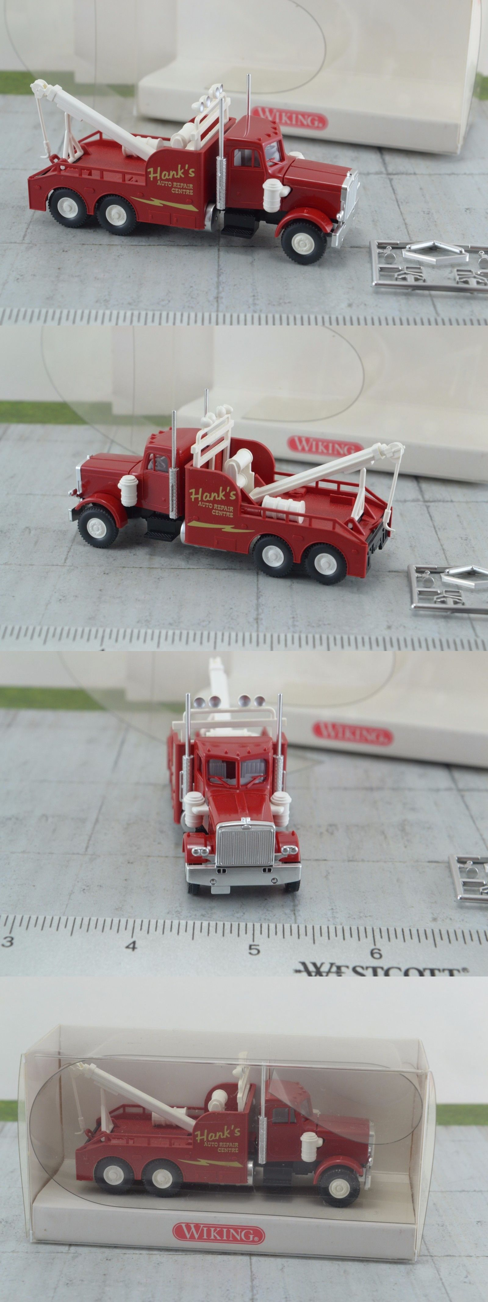 20e7f41a54 Other HO Scale 484  Wiking Peterbilt Tow Truck Hank S Auto Repair - 1 87 Ho  Scale -  BUY IT NOW ONLY   23.99 on  eBay  other  scale  wiking  peterbilt  ...