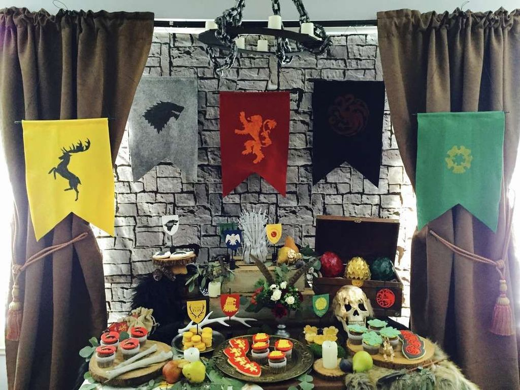 36 Amazing Game Thrones Decorations Ideas Try Game Of Thrones