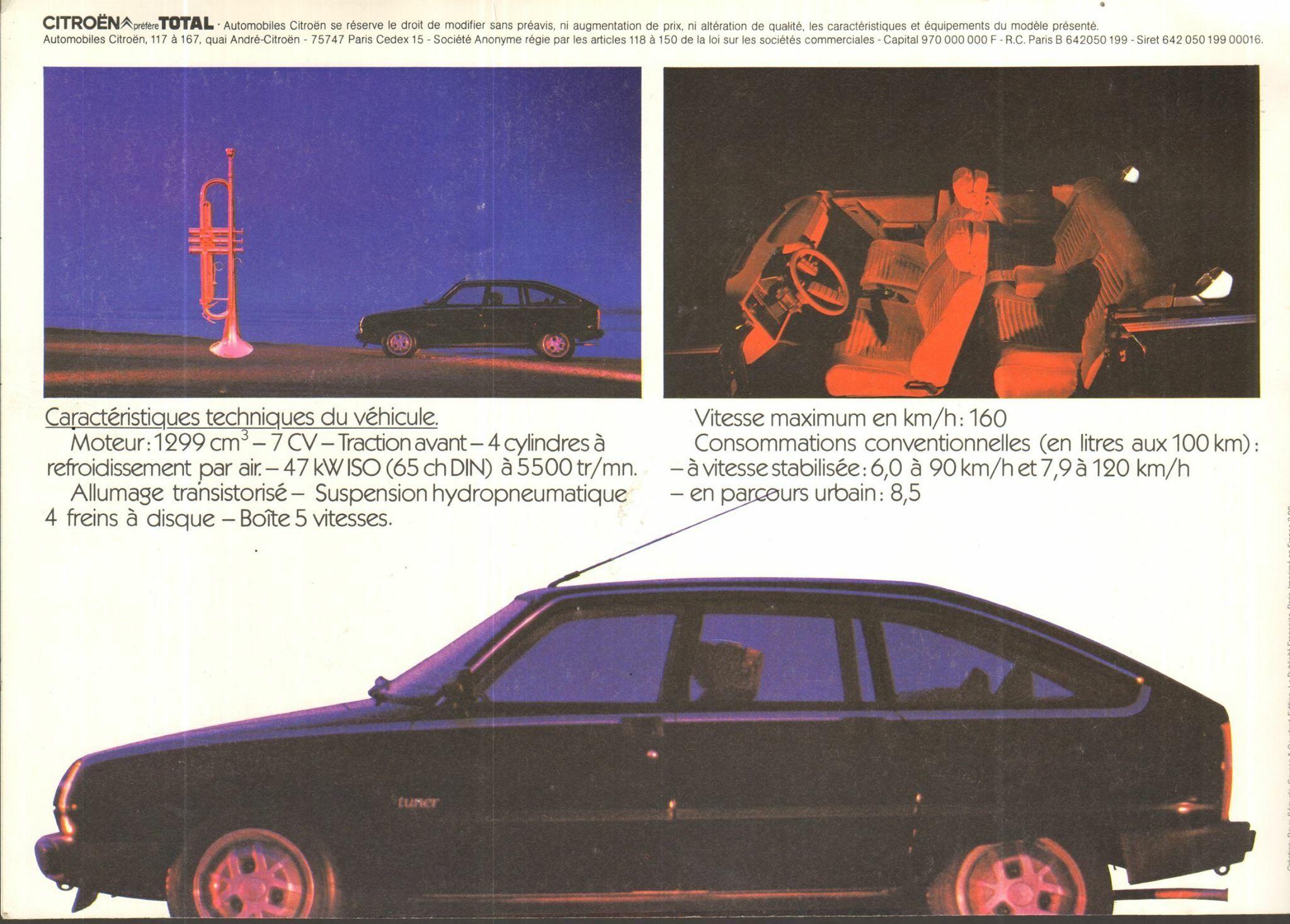 Citroen Gsa Tuner Brochure