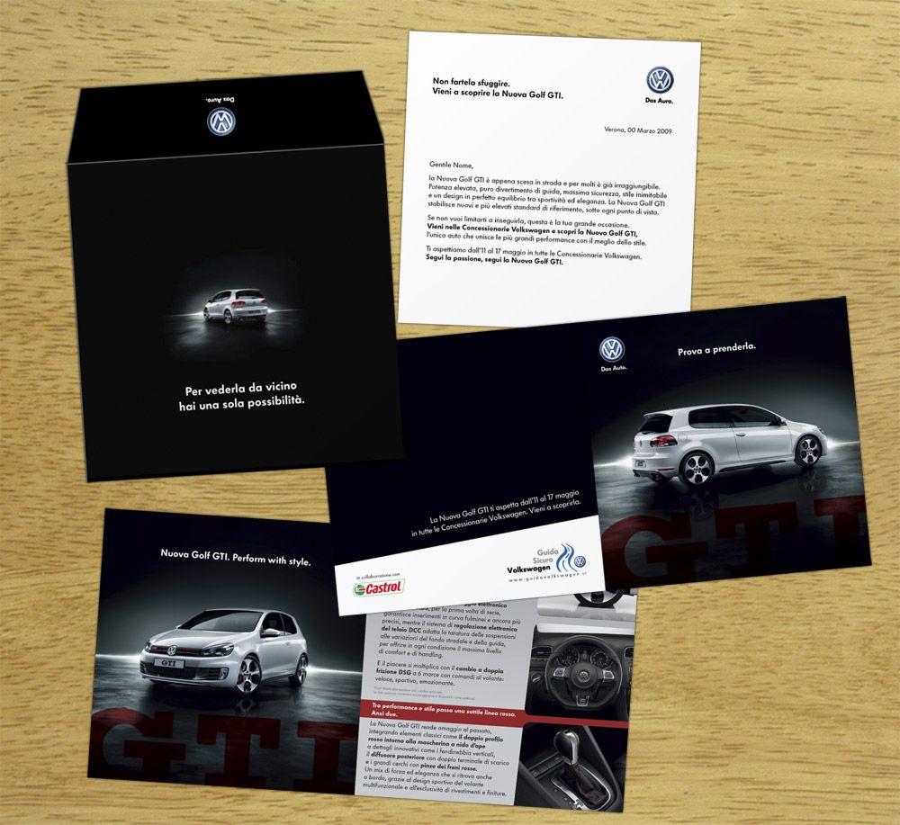 Advertising Volkswagen Novelty GTI CRACKER Volkswagen Golf Gti