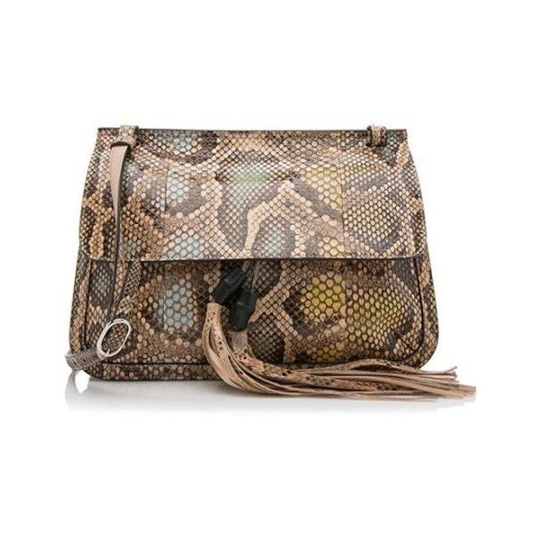 Pre-owned - Bamboo python bag Gucci xmyFmcN2