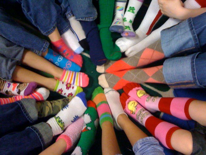 Crazy Sock Day Read Fox In Socks For Dr Seuss Week Dr Seuss