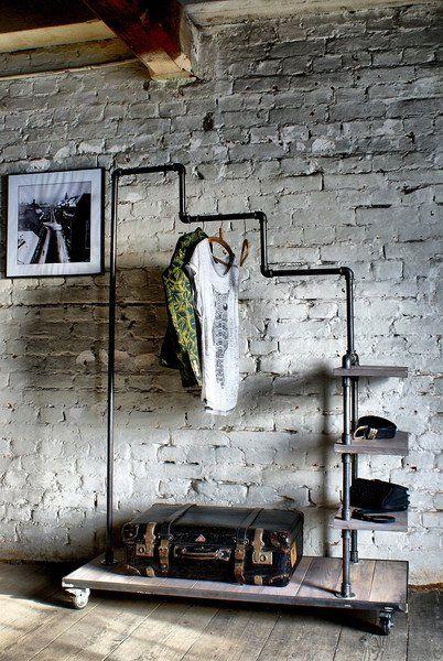 CALAMUS Kleiderständer aus Wasserrohren