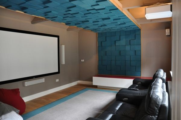 home theater acoustic design. Soundtect acoustic panels for home theater  Landscape Soundscape
