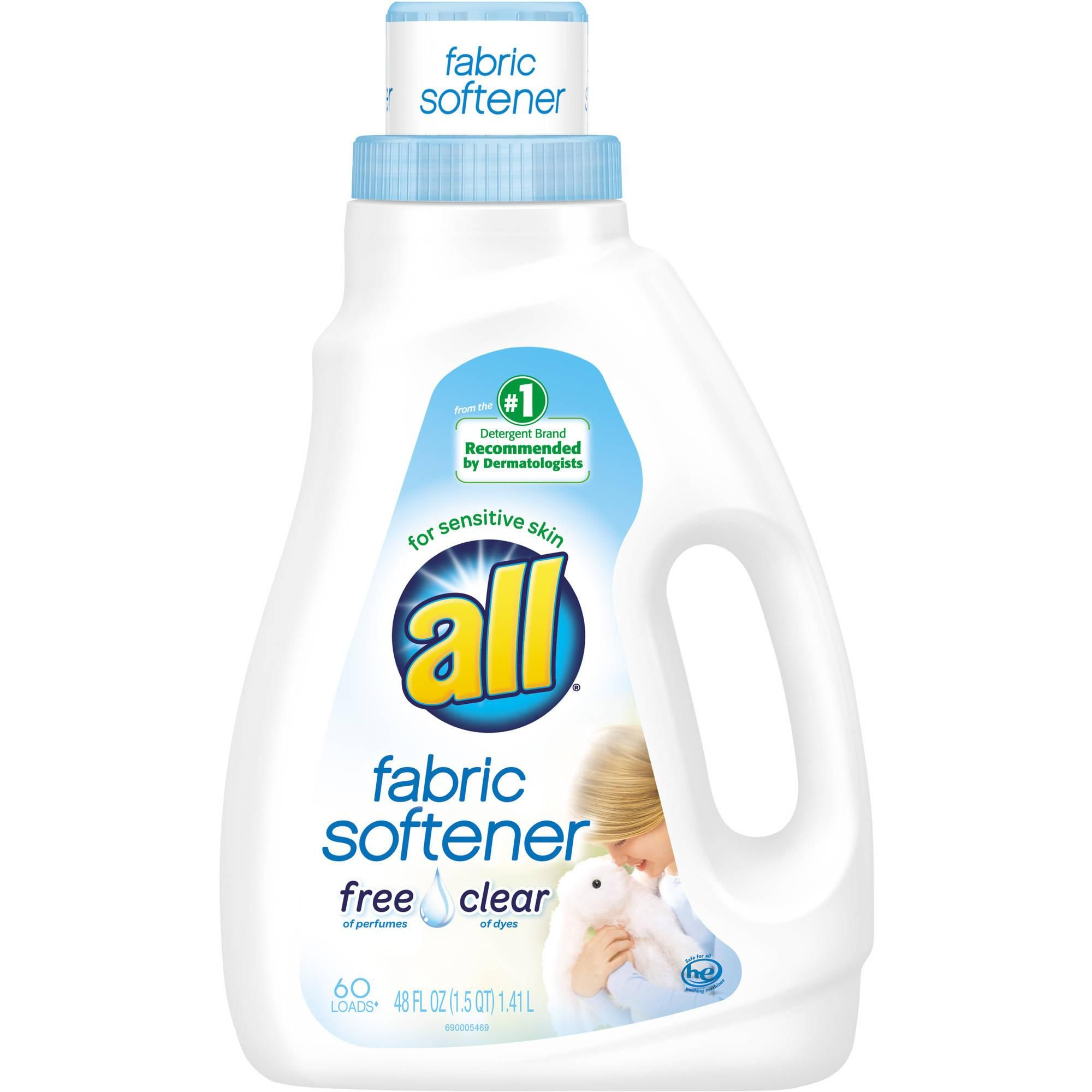Kroger All Fabric Softener Only 1 99 Become A Coupon Queen Liquid Fabric Softener Fabric Softener Sensitive Skin