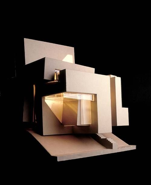 Guardiola House, Santa Maria del Mar, 1986-1988 / Peter Eisenman