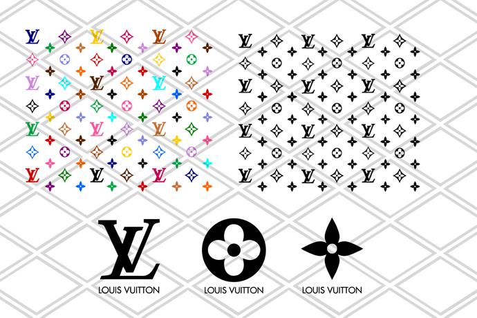 Louis Vuitton Svg Lv Bundle Brand Logo Svg Louis Vuitton Pattern Cricut File Silhouette Cameo Svg Png Eps Dxf B In 2020 Louis Vuitton Pattern Louis Vuitton Svg