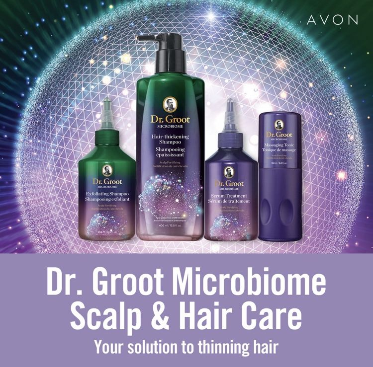 Dr. Groot Microbiome Scalp Fortifying Hair Thickening Shampoo by Avon