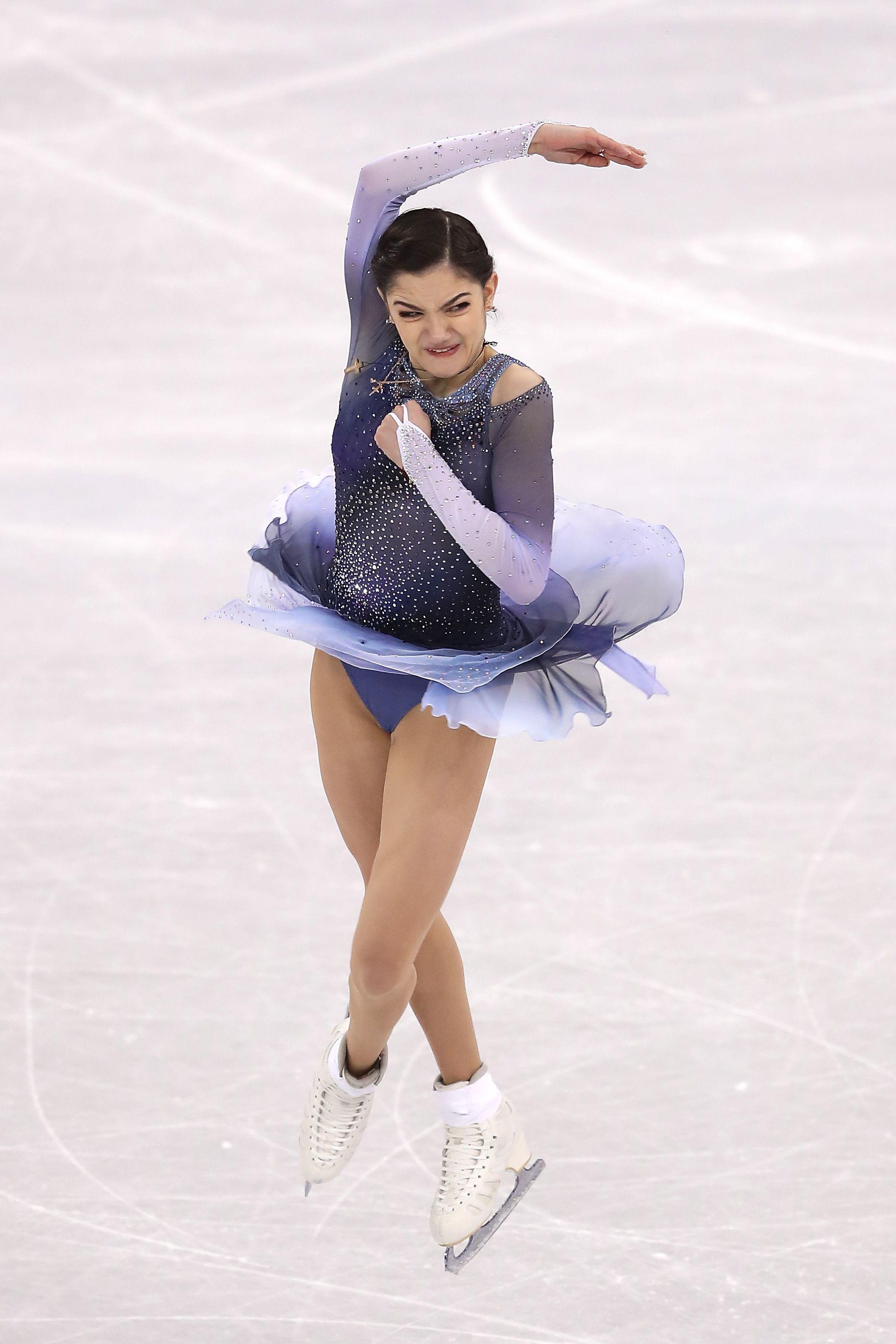 Russian figure skater Evgenia Medvedeva, resolution ...