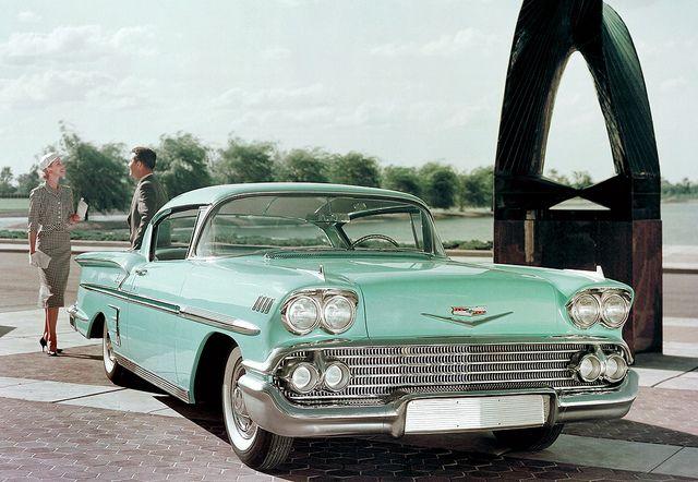 1958 Chevrolet Impala Sport Coupe Chevrolet Bel Air Chevrolet Impala 1958 Chevy Impala