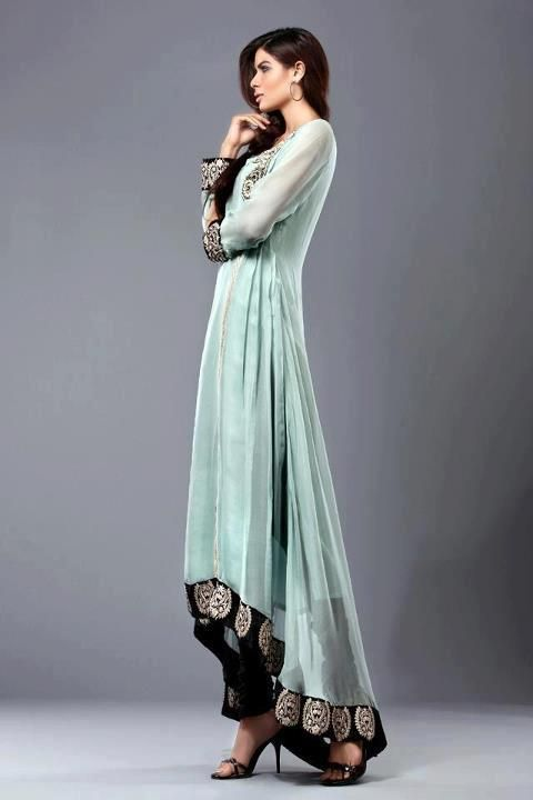 Beautiful Colour Combination Pakistani Formal Dresses Pakistani Outfits Fashion