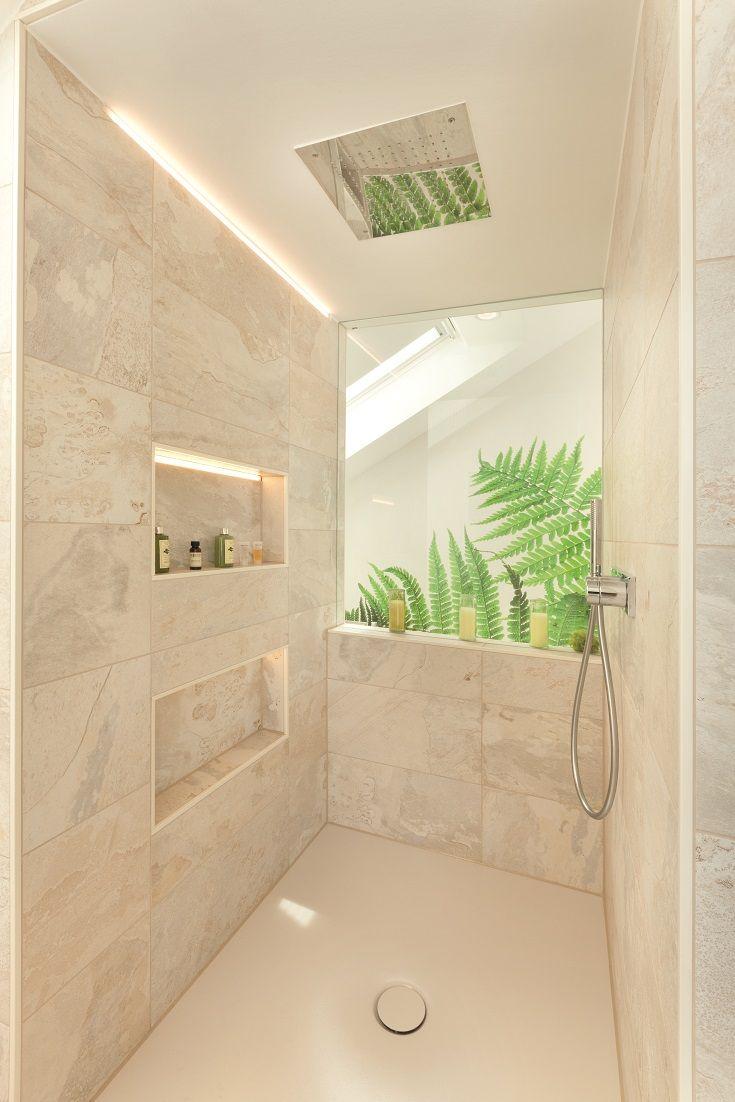 Fertighaus Wohnideen Badezimmer Dusche Begehbare Badezimmer