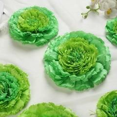 "Pack of 6   Mint Green   Multi-size Carnation 3D Giant Paper Flowers   Paper Flower Backdrops Wedding Wall   7""/9""/11"" #giantpaperflowers"