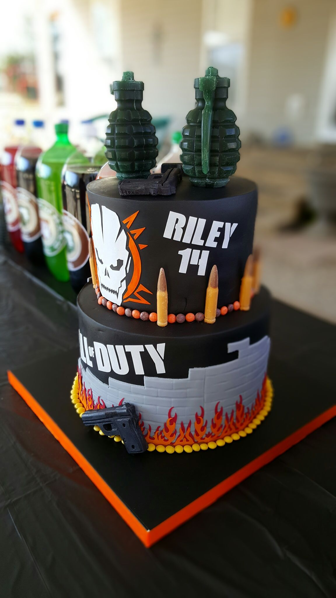 Call Of Duty Black Ops Iii Birthday Cake Parties Pinterest