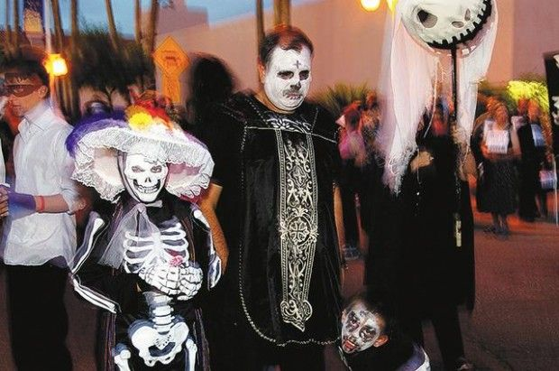 All Souls Procession In Tucson All Souls Halloween Face Soul
