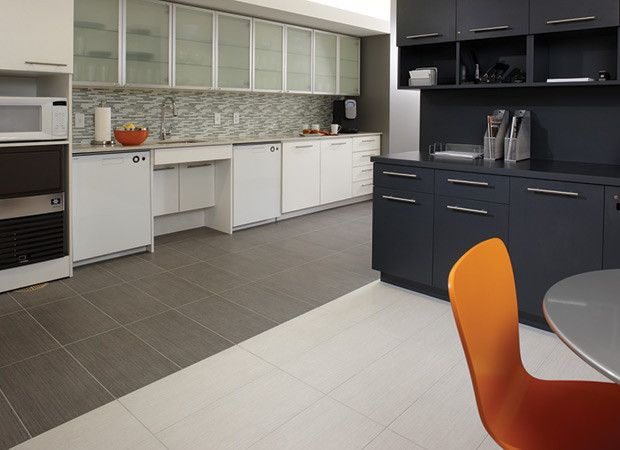 Contemporary kitchen design with white wenge and gray for Wenge kitchen designs