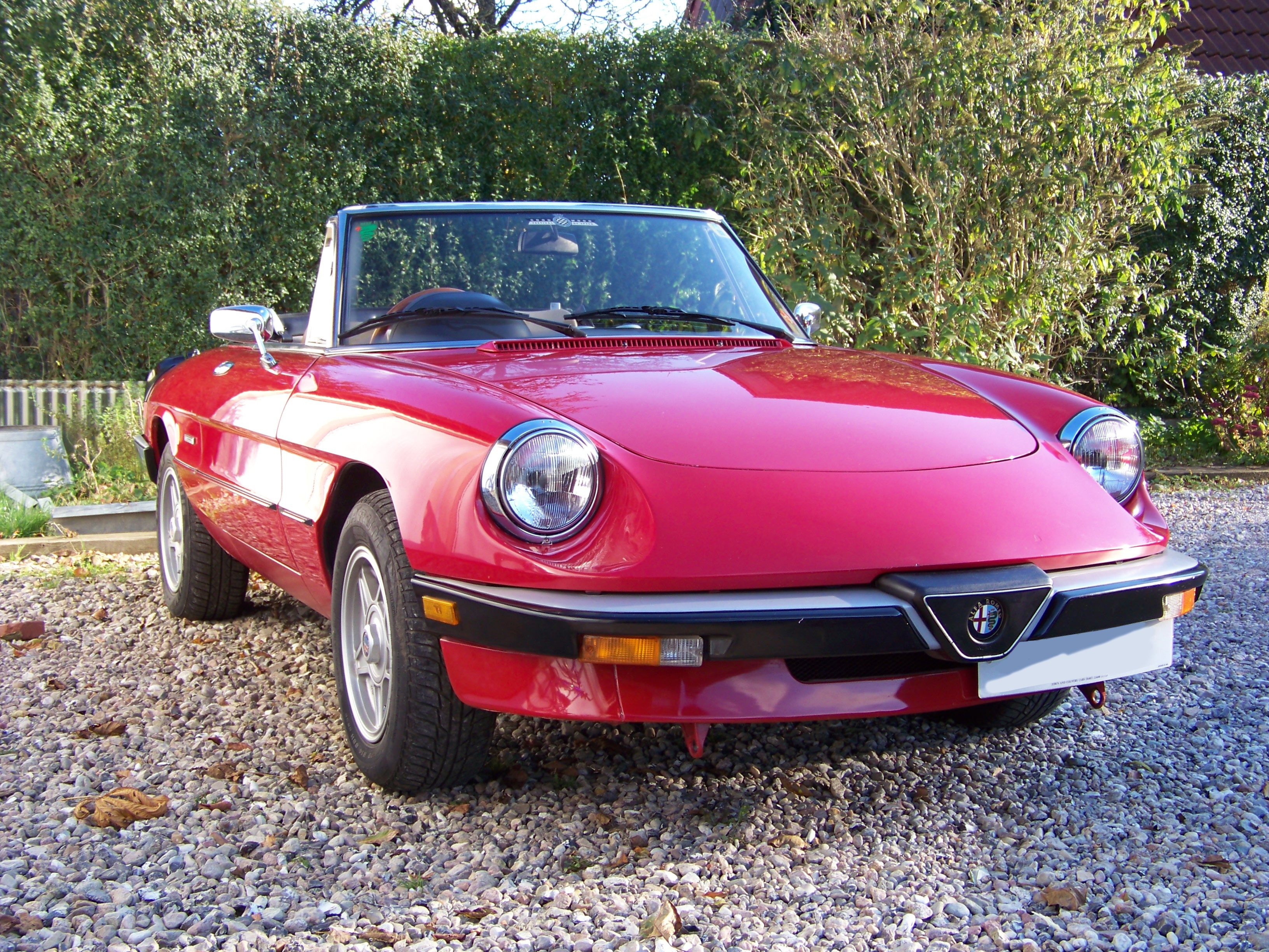 1989 Alfa Spider 2 0 Gets more beautiful with every passing year