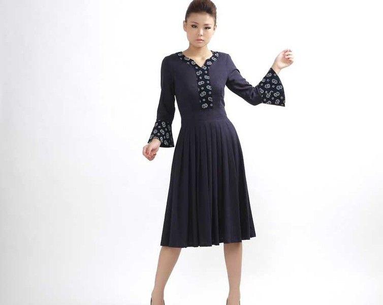 elegant  Langes Kleid (302)