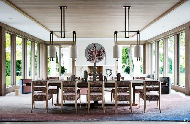 Ad100 Designer Kelly Behun Adds A Dash Of Fun To This Zen Hamptons