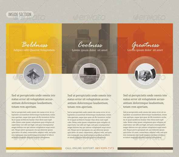 I Like The Colors And The Circles Scrappy Inspiration - Template brochures