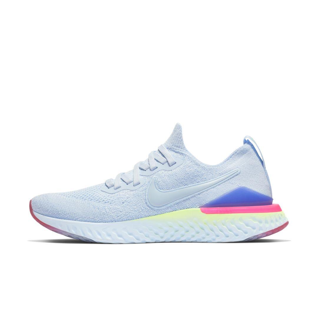f2916faa3cb39 Nike Epic React Flyknit 2 Women s Running Shoe Size 6.5 (Hydrogen Blue)