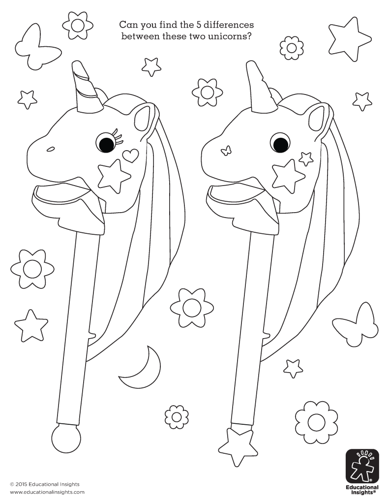 Letter Activity Unicorn Colouring Pictures | www.picturesboss.com