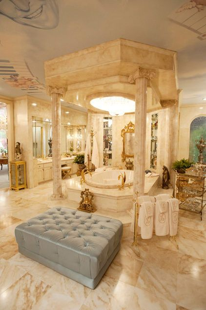 Liberace commissioned his version of the sistine chapel for his bedroom ceiling he also loved to collect things one of the set designers notes th