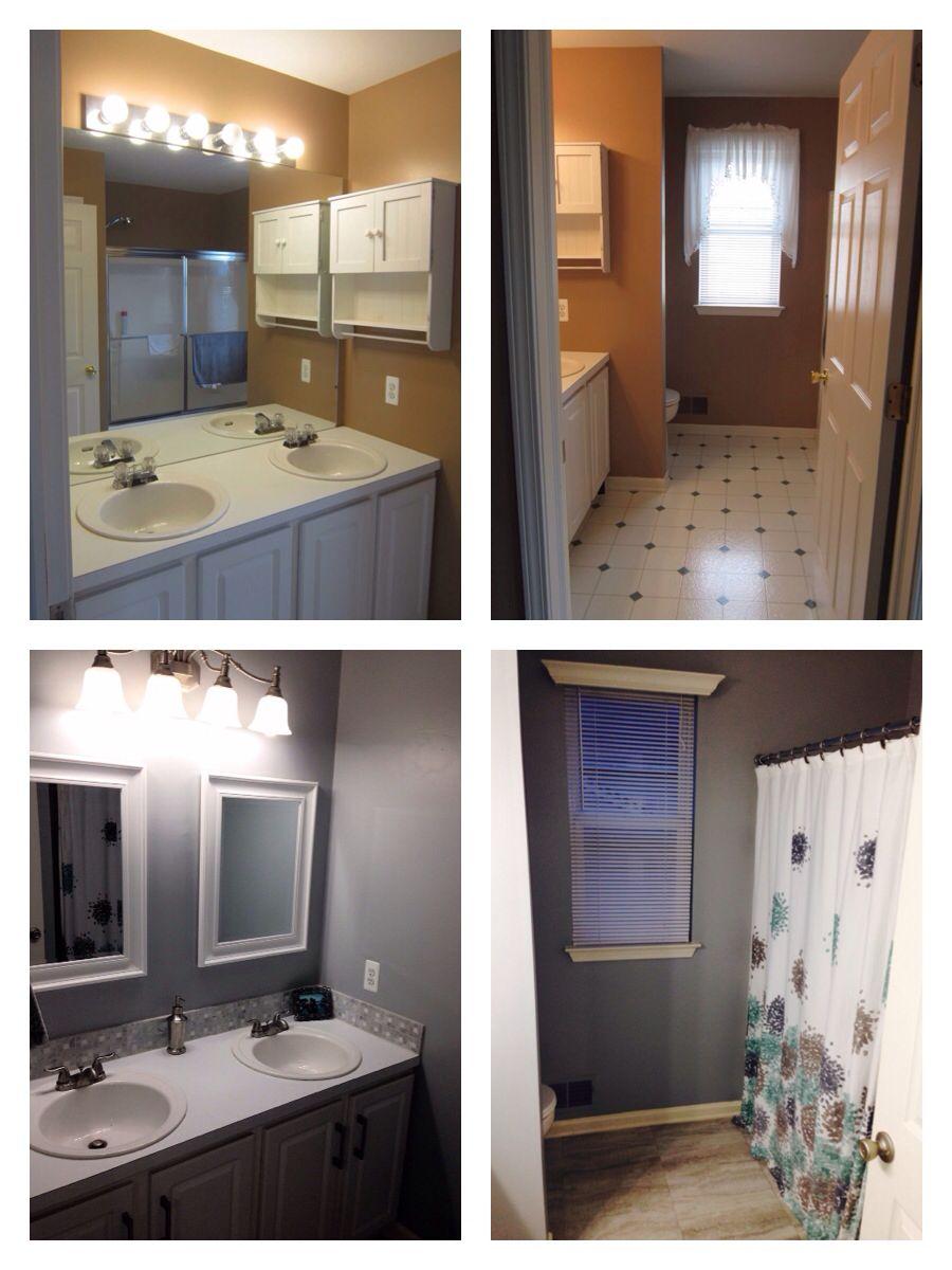 Bathroom renovation home renovations pinterest bath and kitchens