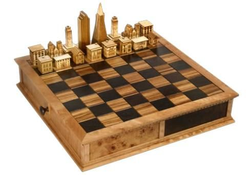 Genial The Steve Vigar Chess Set Is Made Of Wood, And Is Amazingly Opulent.