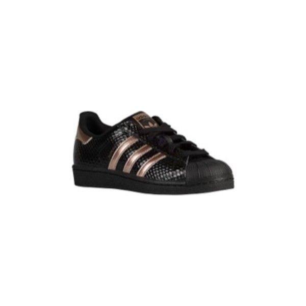 adidas superstar black/copper metallic/black