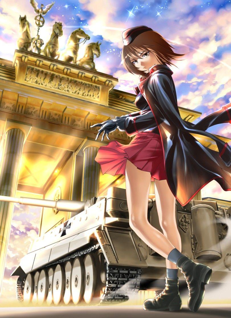 Pin by Alex Brinker on Girls und Panzer Anime military