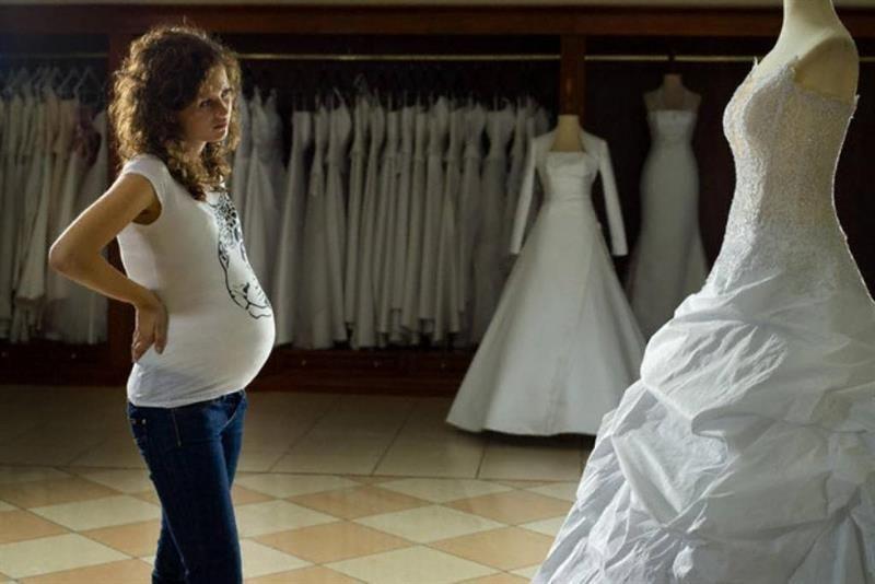 За сколько до свадьбы покупать платье