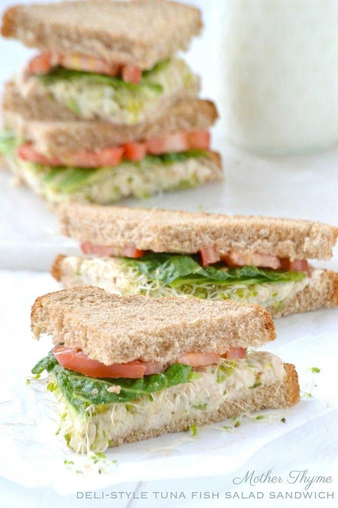 Deli style tuna fish salad sandwich recipe tuna fish for Recipes with tuna fish