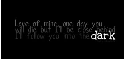 I Will Follow You into the Dark by Death Cab For Cutie
