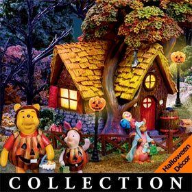 winnie the pooh halloween village