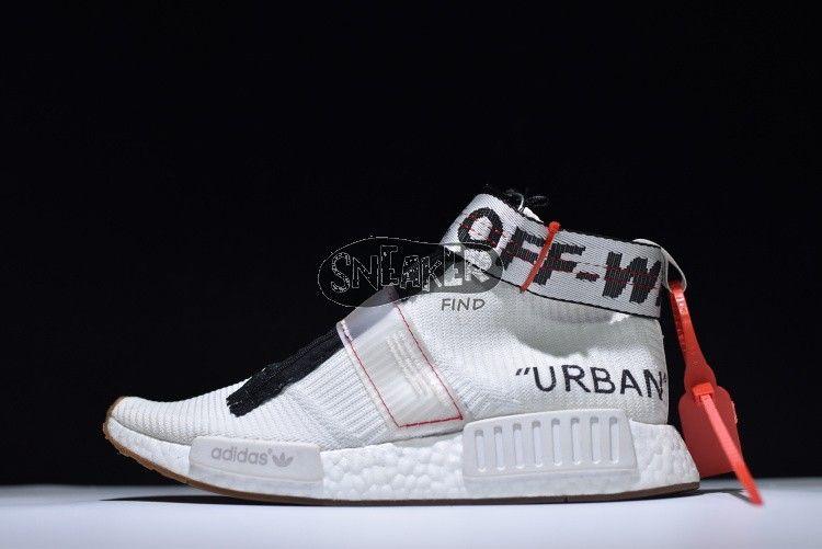 Off White X Adidas Originals Nmd City Sock Look My Bio Link To Get