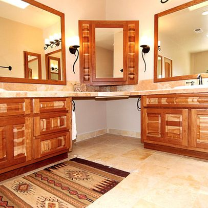 L Shaped Bathroom Vanity Ideas Corner Vanities Design