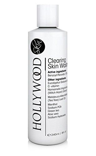 Clearing Skin Wash with 10 Benzoyl Peroxide 400 STRONGER than