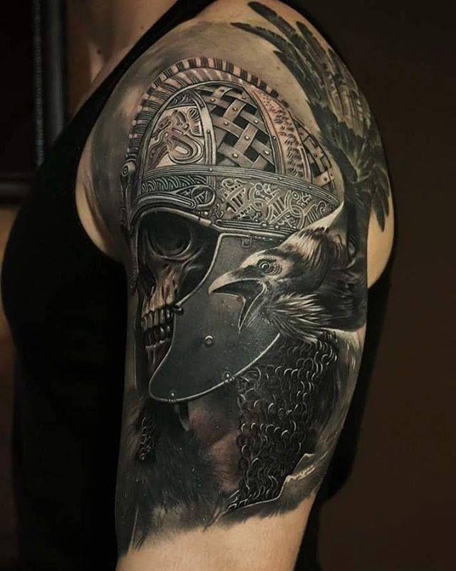 Scottish Warrior Tattoos: Tolik Gaidamovic