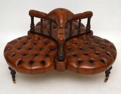 Learning how to identify and date an antique sofa can help you.