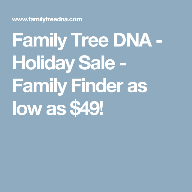 Family Finder As Low As