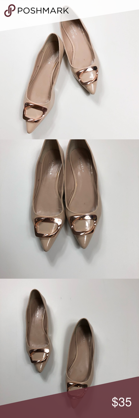 Nadia Nude Flat Loafer Shoes By Miss KG | Kurt Geiger