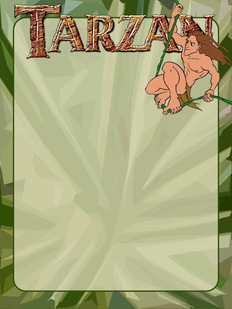 Journal Card - Tarzan - logo - 3x4 photo pz_DIS_849_Tarzan_logo_3x4 ...